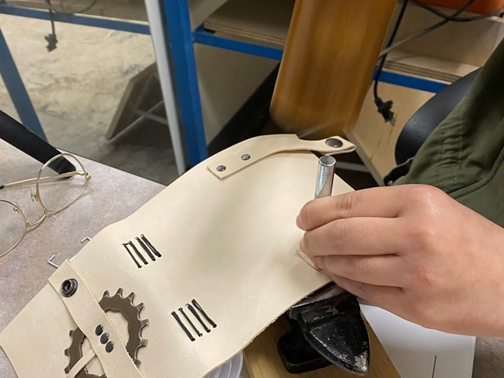 Testimonials on leather-journal making, learning with Teri