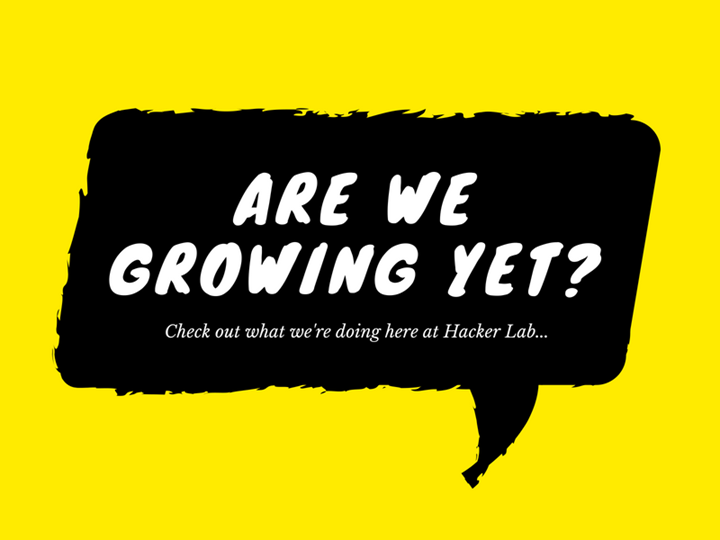 Growth Hacking Hacker Lab: Month 2