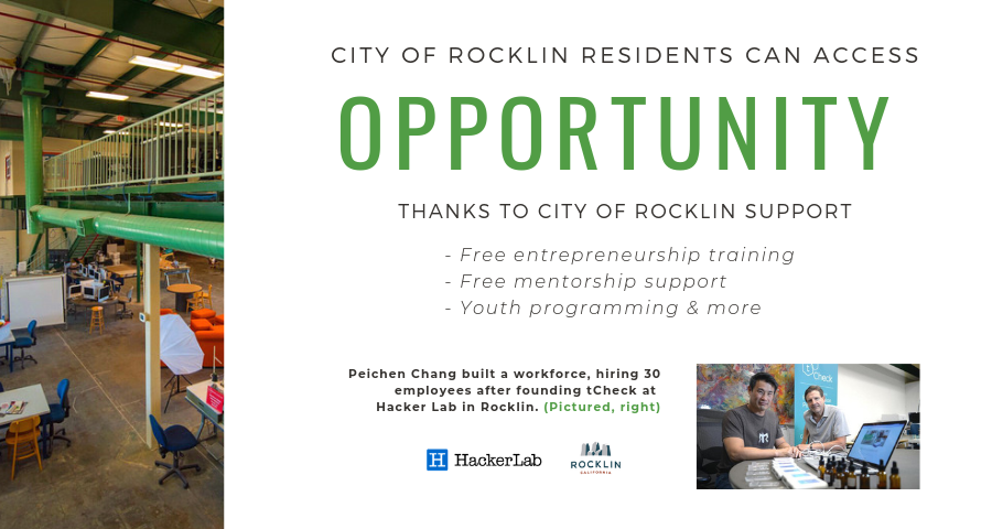 Rocklin residents have more opportunity thanks to City support